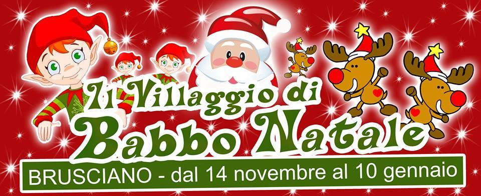 Parco Di Babbo Natale.Brusciano Apre Il Villaggio Di Babbo Natale Il Mediano