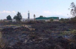 Acerra, l'area sequestrata dal vigile eroe distrutta dal rogo tossico 1