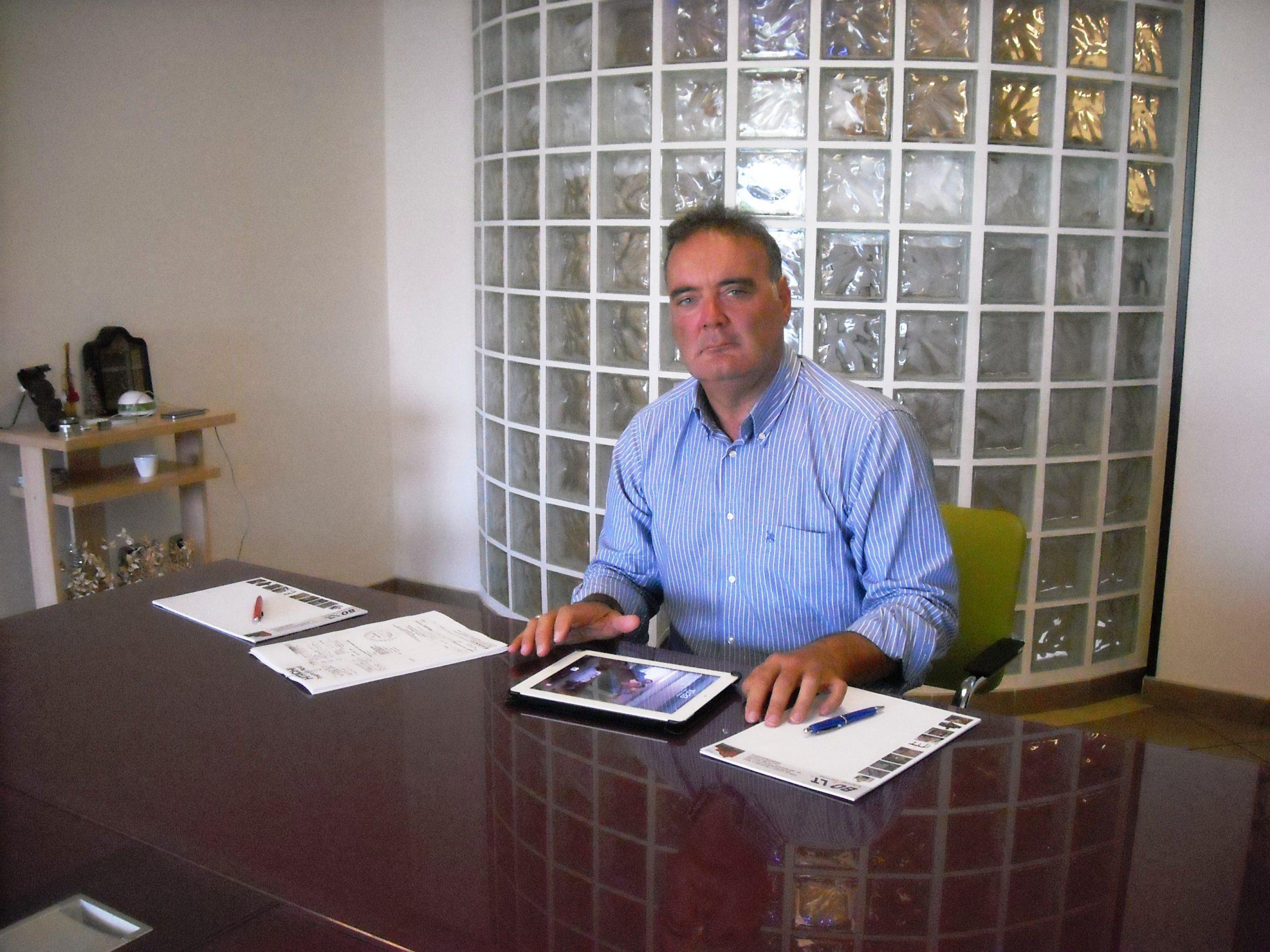 L'imprenditore di Pomigliano Stefano Palmese