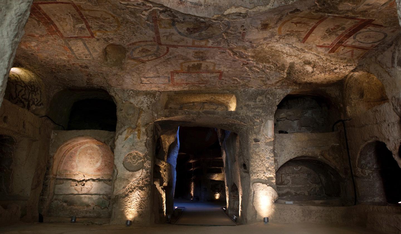 Le catacombe di San Gennaro (fonte: internet)
