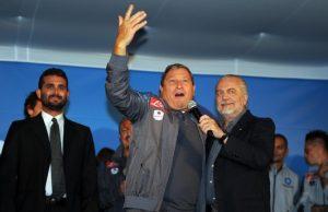 Starace, magazziniere del Napoli (foto tratta dal sito della società sportiva calcio Napoli)