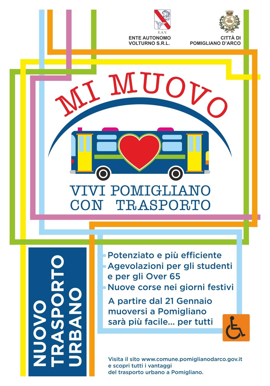 Via Romani Pomigliano D Arco pomigliano d'arco, da sabato il nuovo trasporto urbano