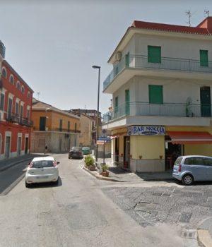 Pomigliano, il luogo in cui è avvenuta la lite tra nordafricani