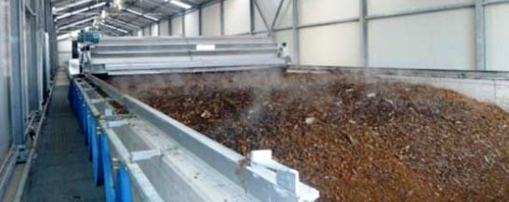 Impianto di compostaggio a biotunnel