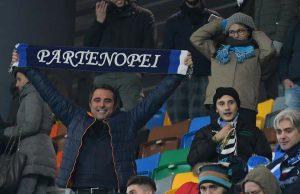 """Sergio Ammirati, strianese residente ad Udine, mostra il suo """"orgoglio partenopeo"""""""