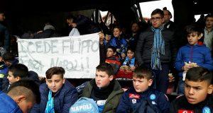 Gli alunni della De Filippo allo stadio