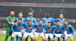 la formazione che ha vinto a Torino (fonte foto, sito internet del Napoli)