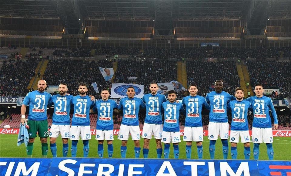 Napoli_Lazio. Fonte foto, sito Ssc Napoli