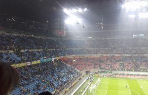 """Lo stadio """"Meazza"""" di Milano fotografato da Rosario Luongo, tifoso in trasferta"""