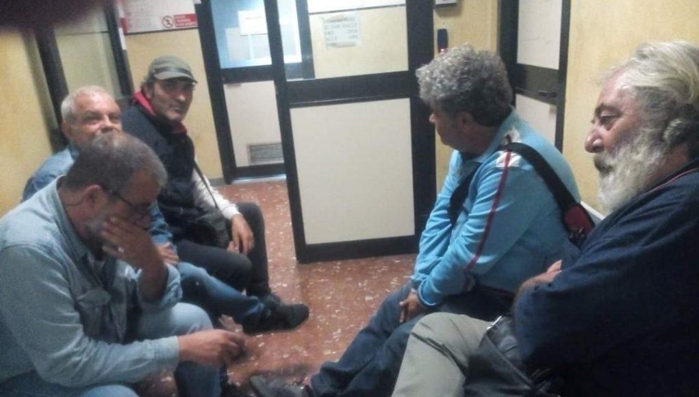 i licenziati fca nella questura di roma