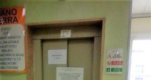 pomigliano, l'ascensore rotto nell'asl