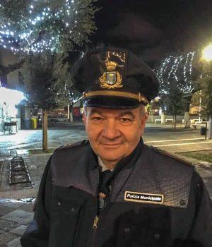 Il comandante della polizia municipale di Acerra, Domenico De Sena