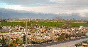 le mostruose immagini della discarica lasciata nell'ex campo rom di acerra