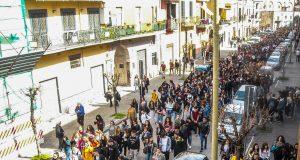 pomigliano, la marcia anticamorra