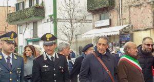 salvatore cantone e il sindaco insieme alla marcia anticamorra del 2016