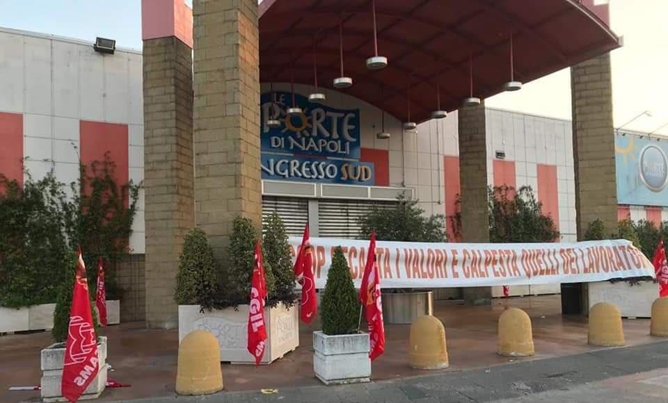 lo sciopero di ieri ad Afragola