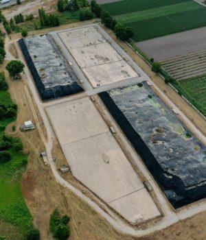 ecco come si presenta oggi l'impianto di stoccaggio del Pantano, ad Acerra