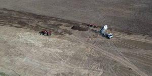 lo scarico di finto compost sui terreni agricoli di acerra
