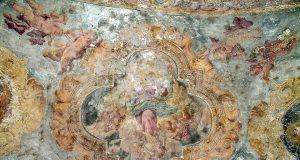 gli affreschi distrutti a palazzo Mondell, distrutto anch'esso