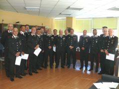 Il generale Lusi tra i carabinieri del NAS di Napoli, della Campania e di altre regioni