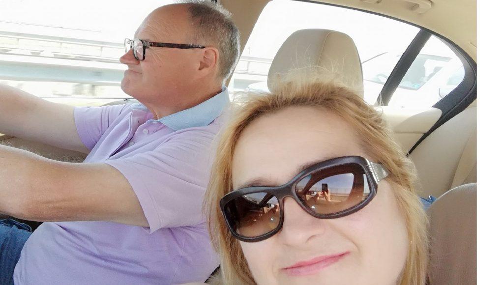 Nina e Nunzio in una recente immagine estiva