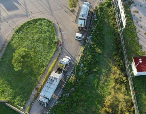 l'operazione irregolare scoperta col drone degli ambientalist