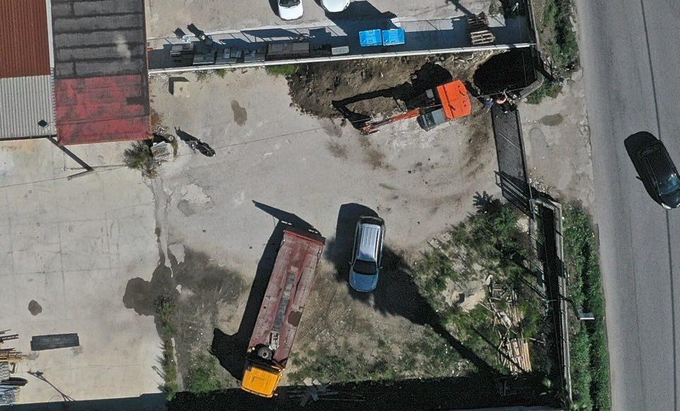 via mulino vecchio: Il luogo dei lavori abusivi