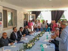 La tavola rotonda delle associazioni sportive con il ministro Spadafora. il sindaco Lello Russo e Dario De Falco