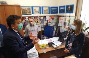Del Mastro colloquia con i dipendenti comunali