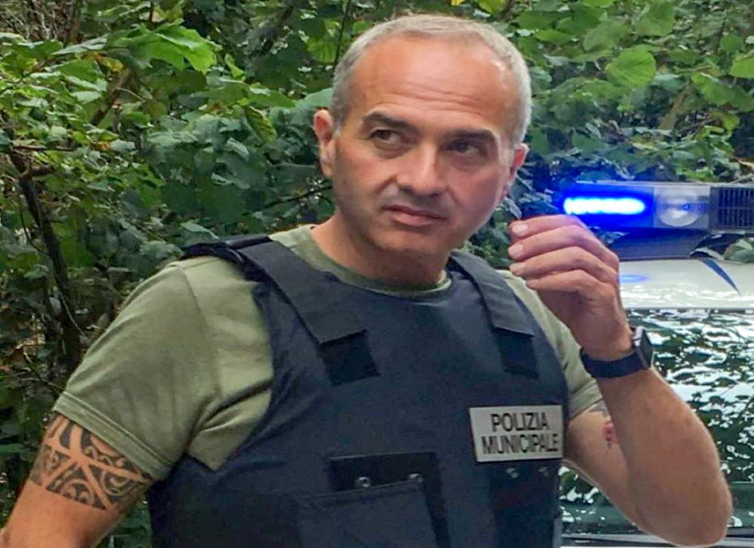 Il comandante Luigi Maiello